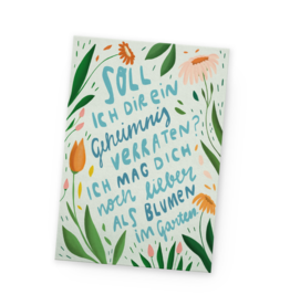 franzizo Postkarte »Blumengarten«
