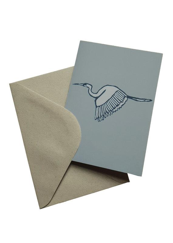 s a t t v a108 Faltkarte mit Naturpapier Kuvert - Leichtigkeit