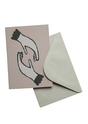 s a t t v a108 Faltkarte mit Naturpapier Kuvert - Verbindung