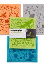 eco Living Kompostierbare Reinigungstücher - Botanischer Garten