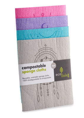eco Living Kompostierbare Reinigungstücher - Spirituell
