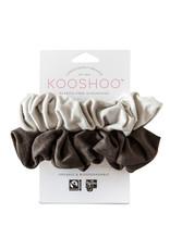 KOOSHOO Plastikfreie Scrunchies 2-er Pack /  mondschein