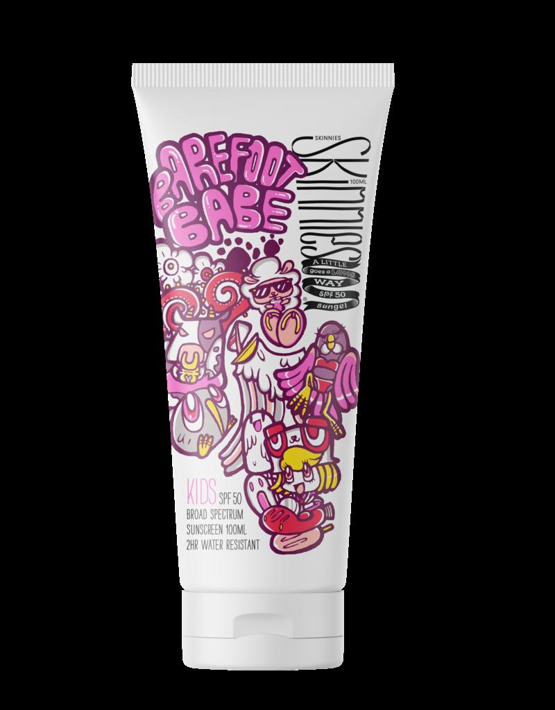 Skinnies Kids Barefood Babe SPF50 Sungel