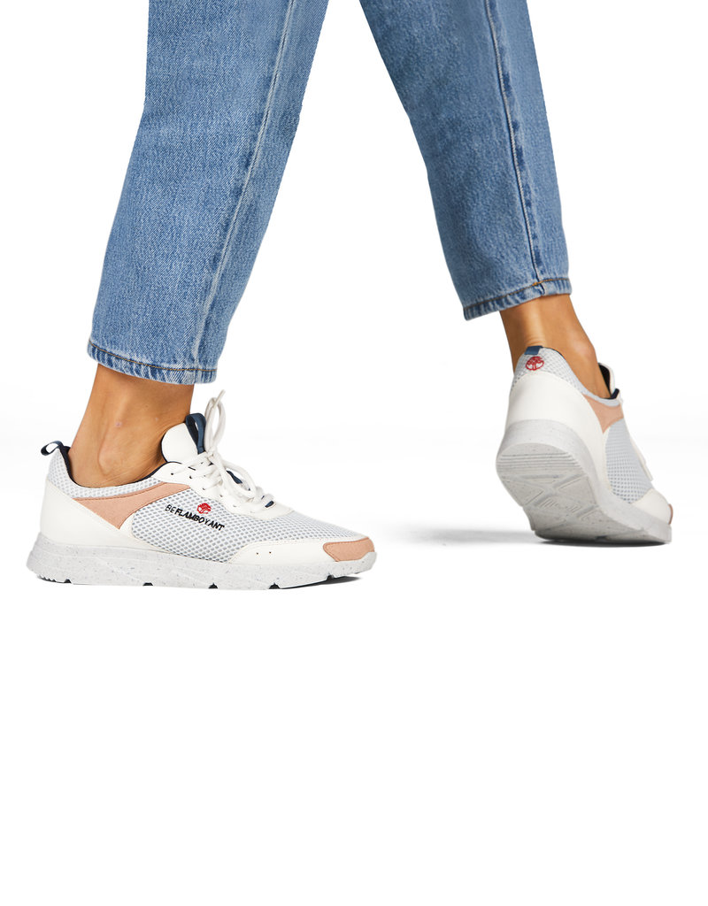 Beflamboyant Vegane Sneakers Street Light Blue