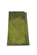Mr. Leaf Grosse Brieftasche aus Teakblättern / grün