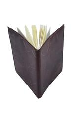 Mr. Leaf Notizbuch A5 aus Teakblättern / braun