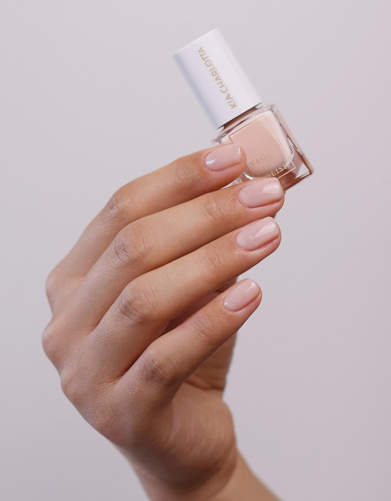 Kia Charlotta Nagellack - Believe (Transparentes Pink), 5ml