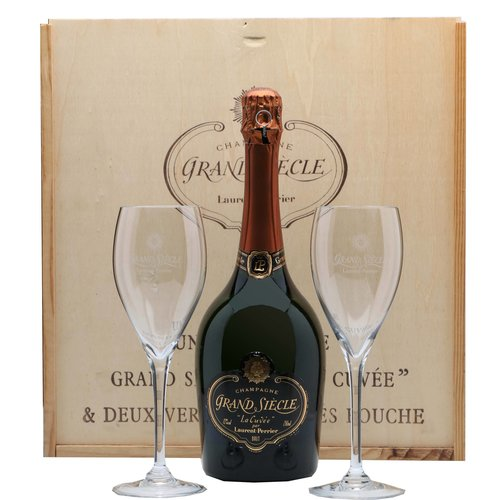 Laurent Perrier Grand Siècle (Giftbox with 2 glasses)