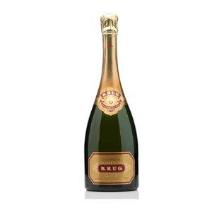Krug Grande Cuvée old label, 3e uitgave 1995-2004