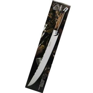 Laguiole Laguiole champagne sabre - red brown - 42 cm