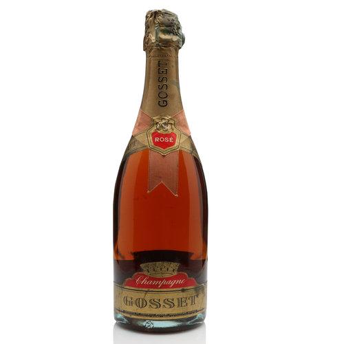 Gosset Grand Rosé (old label)