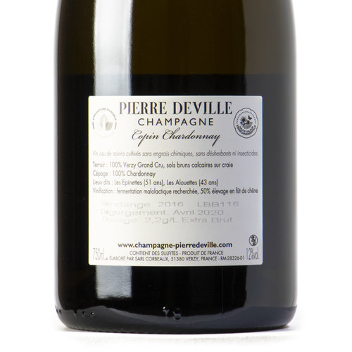 Pierre Deville Copin chardonnay