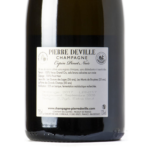 Pierre Deville Copin pinot noir