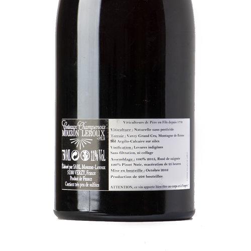 Mouzon-Leroux Côteaux champenois rosé 2015