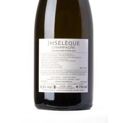 JM Sélèque Vintage 2015 Soliste Pinot Noir 'Les Gayères'