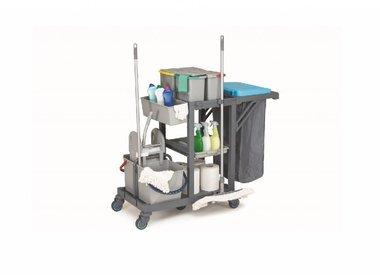 Putz-, Wäsche- und Mop-wagens
