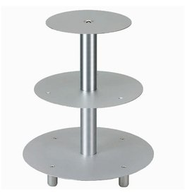Schneider Stainless steel Wedding cake stand, 3 layers