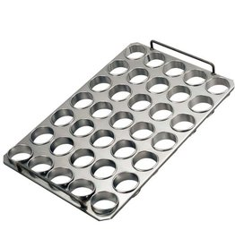 Baking tray with rings 65 x 30