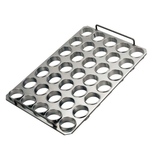 Baking tray with rings 80 x 20