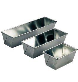 Gefaltet Rührkuchen Blech 240 x 90 x 75(h) mm