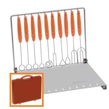 Schneider Dipvorken set (10 delig + standaard)