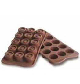 Schneider Chocolate shapes Round