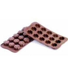 Schneider Chocolate shapes Flowers