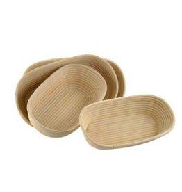 Schneider Banneton rising basket, oval 2000 grams