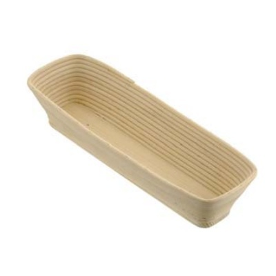 Schneider Banneton/wood rising basket, straight 1250 grams