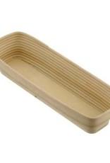 Schneider Banneton/wood rising basket, straight 4000 grams