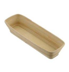 Schneider Banneton/wood rising basket, straight 5000 grams