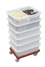 Scaritech Container for raw material 20 Liters, rectangular