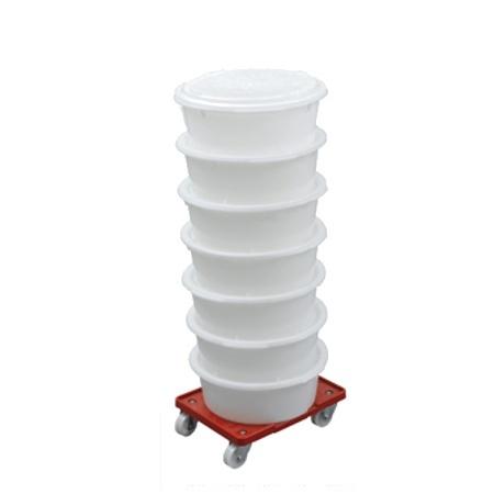 Scaritech Rohstoffbehälter 19 Liter, rund
