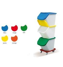 Scaritech Deckel für Rohstoffbehälter 40 Liter