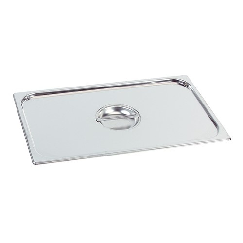 Gastronorm stainless steel lid 1/3 GN