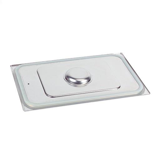 Deckel für Gastronorm-Behälter 1/2 GN mit Silikonisierte Ränder