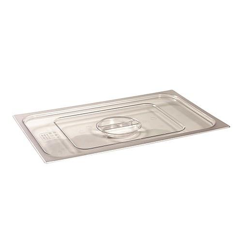 Deckel für Gastronorm-Behälter 1/9 GN von klarsicht Polycarbonat