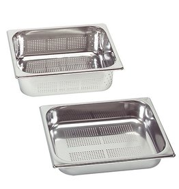 Perforated gastronorm container, GN 1/2 x 100(h) mm