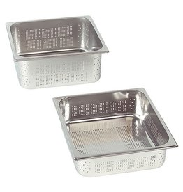 Perforated gastronorm container, GN 2/3 x 65(h) mm