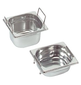 Gastronorm container with recessed handles, GN 1/6 x 100(h) mm