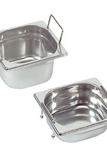 Gastronorm container with recessed handles, GN 1/6 x 200(h) mm