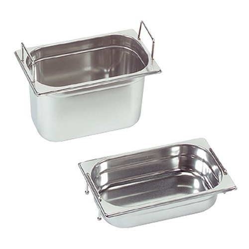 Gastronorm container with recessed handles, GN 1/4 x 100(h) mm