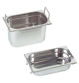 Gastronorm container with recessed handles, GN 1/4 x 150(h) mm