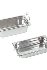 Gastronorm-Behälter mit versenkbaren Griffen, GN 1/3 x 100(h) mm