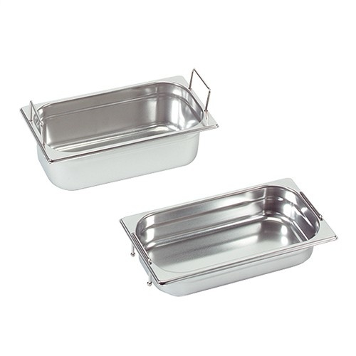 Gastronorm container with recessed handles, GN 1/3 x 100(h) mm
