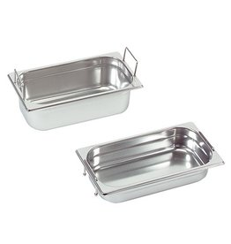 Gastronorm container with recessed handles, GN 1/3 x 150(h) mm
