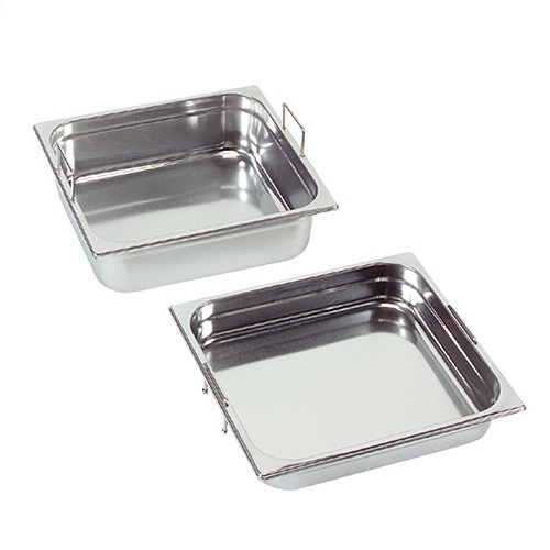Gastronorm container with recessed handles, GN 1/2 x 100(h) mm