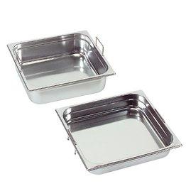 Gastronormbak met verzonken grepen, GN 1/2 x 150(h) mm