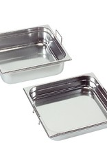 Gastronorm container with recessed handles, GN 1/2 x 200(h) mm