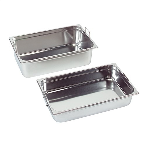 Gastronorm container with recessed handles, GN 2/3 x 65(h) mm
